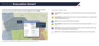 What are Evacuation Zones?